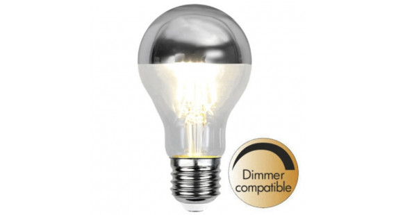 Illumination LED Reflective Top Silver E27 2700K 350lm Dimmer comp.