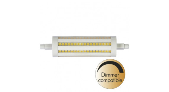 Illumination LED Clear R7S 2700K 1100lm Dimmer comp.
