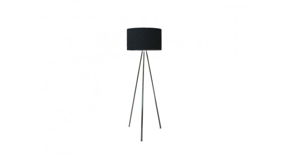 Finn Black Floor lamp