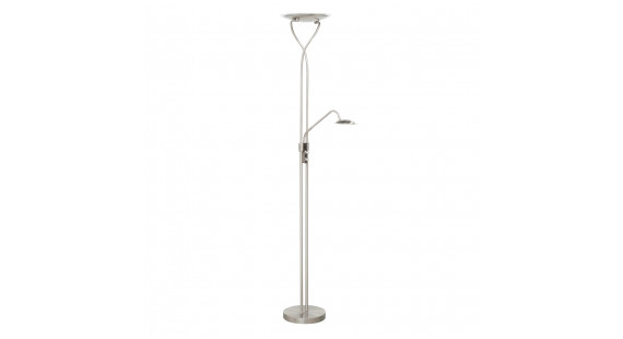 TABERG Floor lamp Nickel