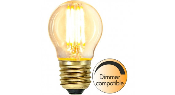 LED LAMP E27 G45 SOFT GLOW DIMMABLE