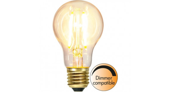 LED LAMP E27 A60 SOFT GLOW DIMMABLE