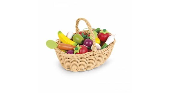24 pcs Fruits & Vegetables Basket