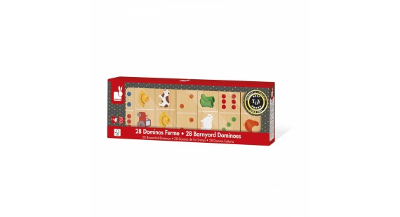 Barnyard Dominoes