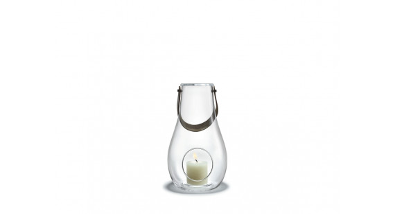 Holmegaard - Design With Light Kertalukt 29cm Clear