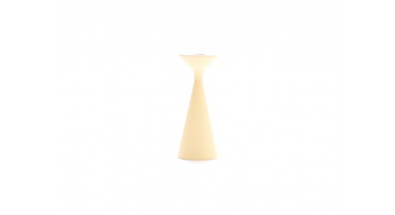 Freemover - Inga Kertastjaki 16cm Custard Yellow
