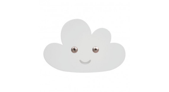 Roommate Cloud Hook white