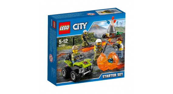 R Lego city volcano starter set