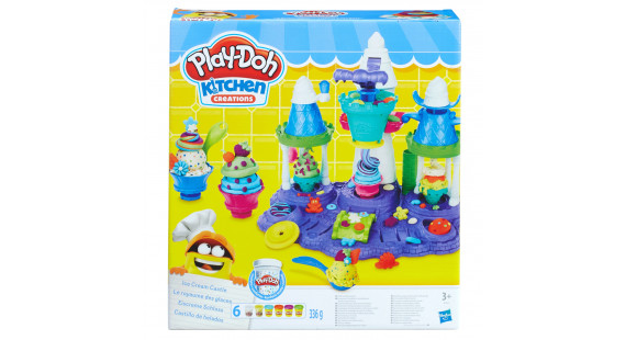 R Hasbro Playdoh Ice Cream Castle