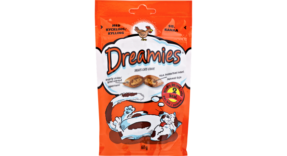 Dreamies Chicken 60g