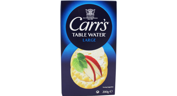 Carrs Table Water 200g.