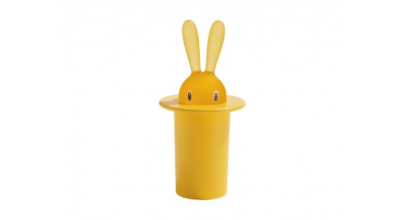 Alessi - Magic Bunny Tannstönglabox Yellow