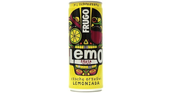 Pólsk Frugo lemo yellow citron 250ml