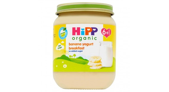 Hipp banana yogurt breakfast 125g