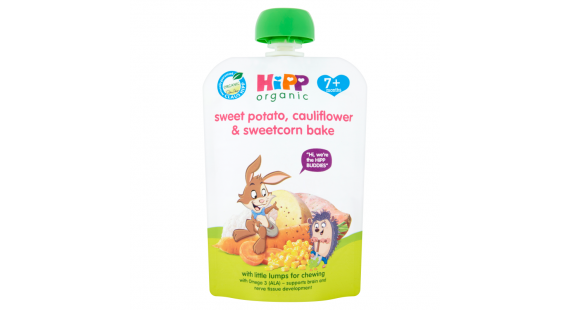 Hipp Skvísa sweet pot cauliflow corn 130g