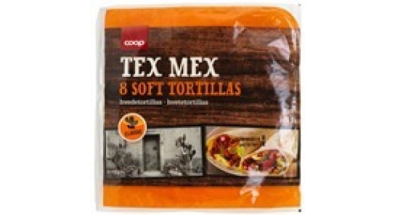 Coop Mexico Tortillas 8s 20cm