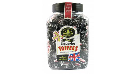 Walker's nonsuch liquorice toffees 1.25kg