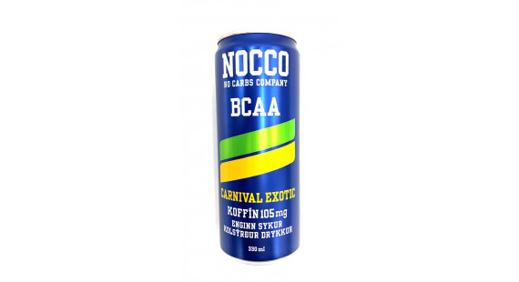 NOCCO BCAA Carnival 33cl 105mg
