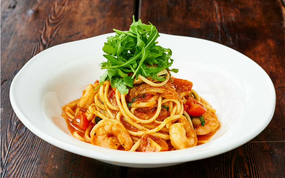 Our Famous Prawn Linguine