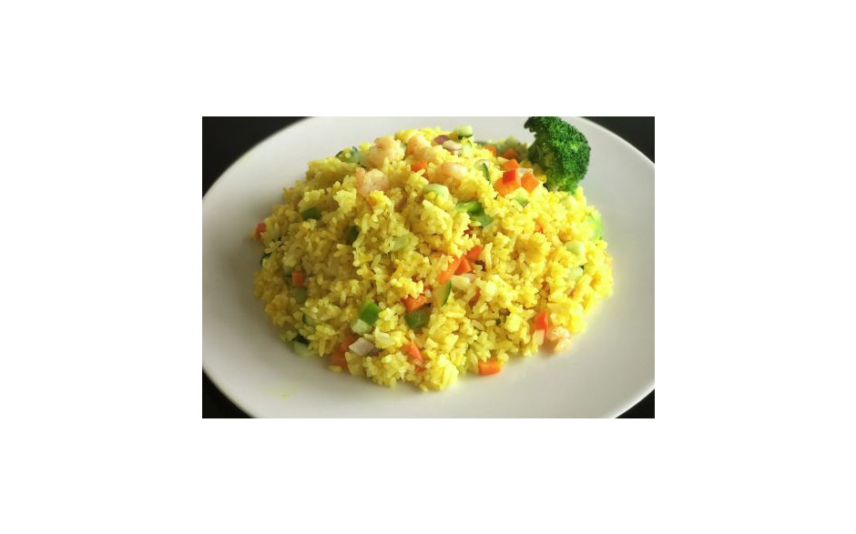 Fried rice with chicken or seafood