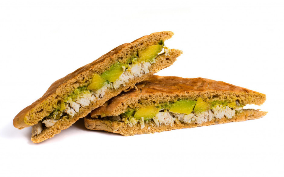 Chicken Avocado Samloka