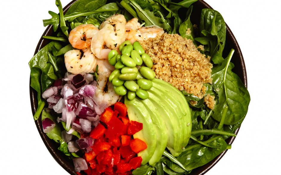 Shrimp Avocado Bowl